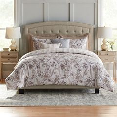 Croft & Barrow® Paisley Cotton 5-piece Reversible Comforter Set