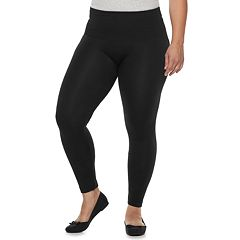 7fd8287558831 Plus Size French Laundry Waist Shape Seamless Leggings