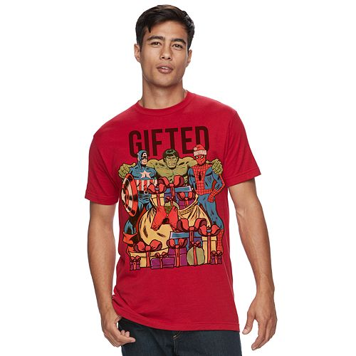 Men's Marvel Team Gifted Tee