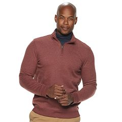 Men's Croft & Barrow® Classic-Fit Quarter-Zip Fleece Pullover