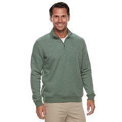 Men's Croft & Barrow® Classic-Fit Quarter-Zip Fleece Pullover