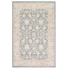 nuLOOM Wharton Framed Floral Rug