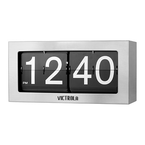 Victrola Large Flip Clock