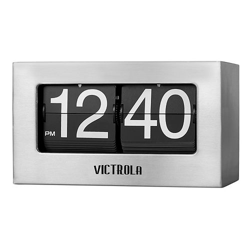 Victrola Small Flip Clock