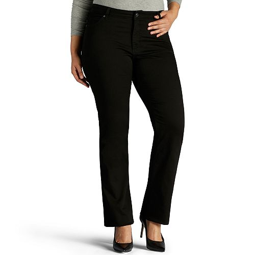 Plus Size Lee Sculpting Mid-Rise Bootcut Jeans