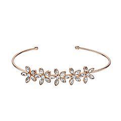 LC Lauren Conrad Flower Cuff Bracelet