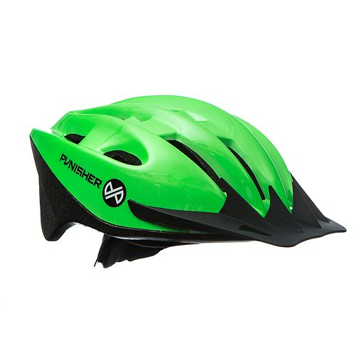 Punisher Adult Neon Green Cycling Helmet