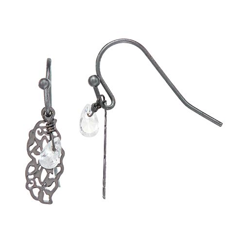 LC Lauren Conrad Filigree Drop Earrings