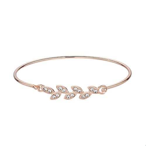 LC Lauren Conrad Leaf Bangle Bracelet