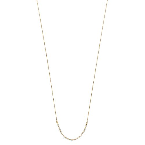 LC Lauren Conrad Crystal Long Lariat Necklace