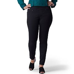 Plus Size Lee Sculpting Pull-On Mid-Rise Skinny Jeans