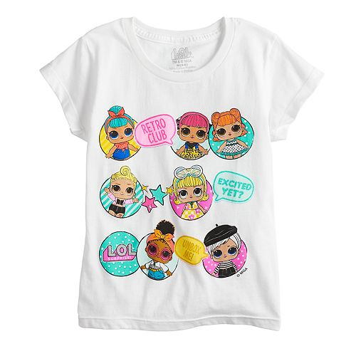 Girls 4-6x L.O.L. Surprise! Graphic Tee
