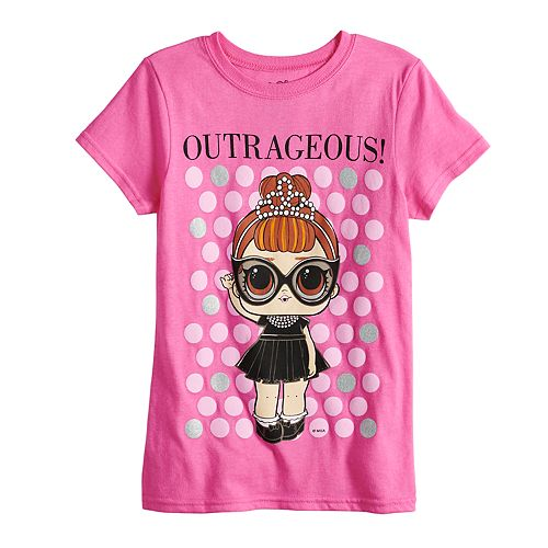"Girls 4-6x L.O.L Surprise! ""Outrageous"" Graphic Tee"