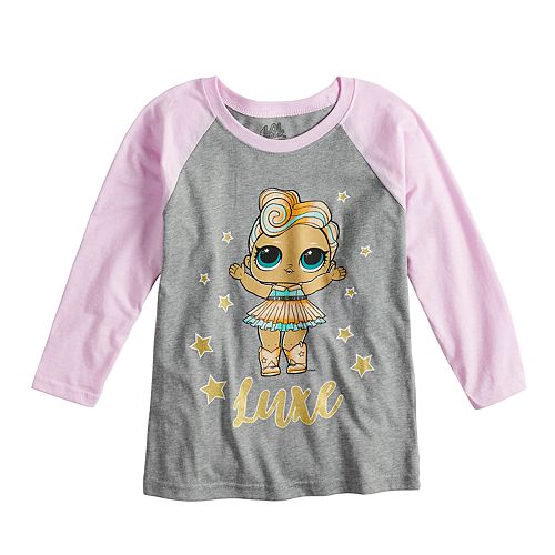 "Girls 4-6x L.O.L Surprise! ""Luxe"" Character Graphic Tee"