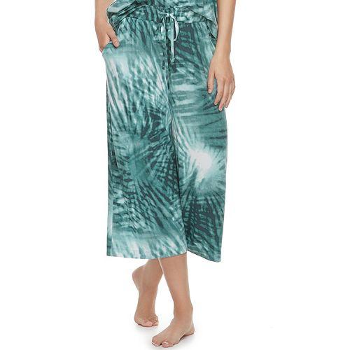 Women's SONOMA Goods for Life™ Printed Crop Pajama Pants