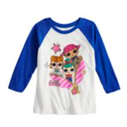 Girls 4-6x L.O.L Surprise! Raglan Graphic Tee