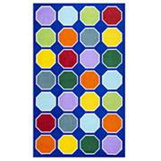 nuLOOM Kecia Colorful Octagons Rug