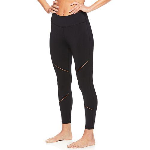 Women's Gaiam Yoga Mid-Rise Capri Leggings