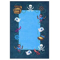 nuLOOM Pirate Playtime Rug