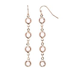 LC Lauren Conrad Nickel Free Linear Drop Earrings