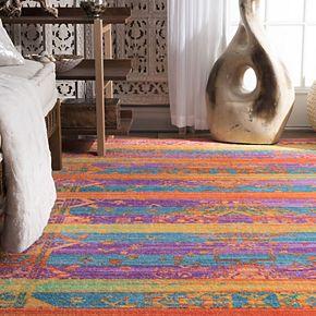 nuLOOM Shafer Colorful Geometric Rug - 5' x 8'