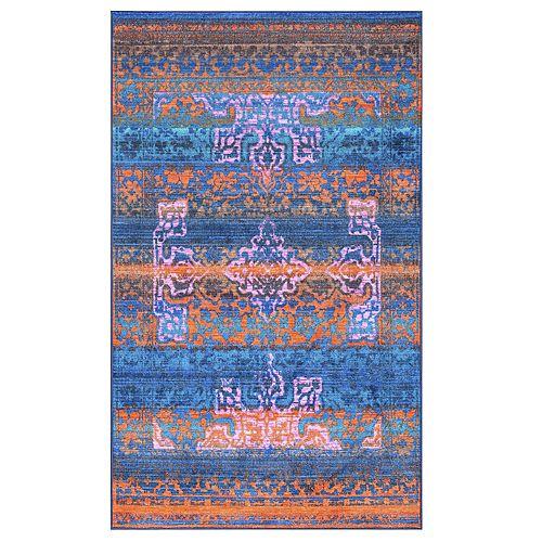 nuLOOM Lakenya Vintage Colorful Rug - 5' x 8'