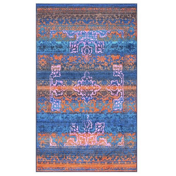 Nuloom Lakenya Vintage Colorful Rug 5
