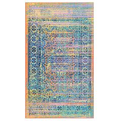 nuLOOM Obdulia Distressed Colorful Rug - 5' x 8'
