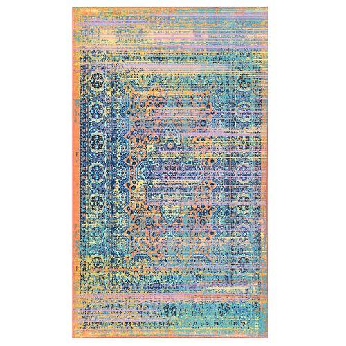 nuLOOM Obdulia Distressed Colorful Rug - 5' x 8'