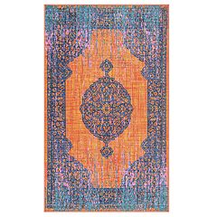 nuLOOM Markley Colorful Medallion Rug - 5' x 8'