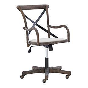 Linon Carson Cafe Desk Chair