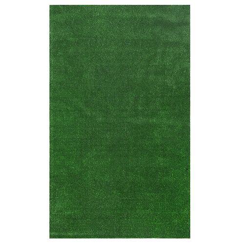 nuLOOM Artificial Grass Indoor Outdoor Rug - 5' x 8'