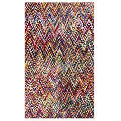 nuLOOM Oconnor Colorful Zig Zag Rug