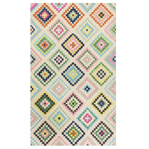 nuLOOM Orval Colorful Geometric Rug - 4' x 6'