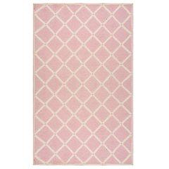 nuLOOM Takako Geometric Pink Rug - 5' x 8'