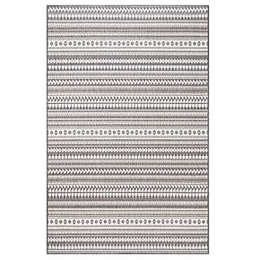 "nuLOOM Teofila Indoor Outdoor Striped Rug - 7'6"" x 10'9"""