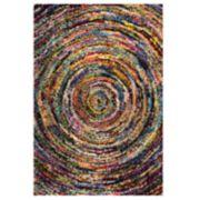 nuLOOM Ardelle Colorful Swirl Shag Rug