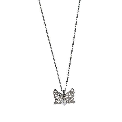 LC Lauren Conrad Filigree Butterfly Pendant