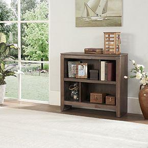 Linon Burke 2-Shelf Bookcase
