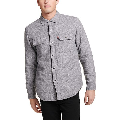 Men's Levi's® Sherpa-Lined Shirt Jacket
