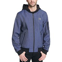 Men's Levi's® Hooded Softshell Varsity Bomber Jacket