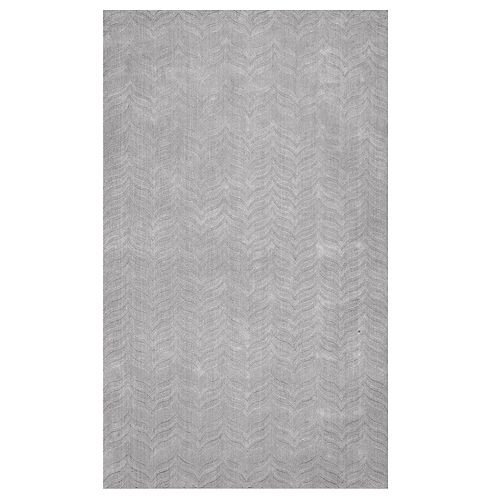 nuLOOM Lundberg Textured Gray Rug
