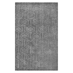 nuLOOM Ambrose Textured Geometric Rug