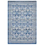 nuLOOM Turnbull Framed Floral Rug
