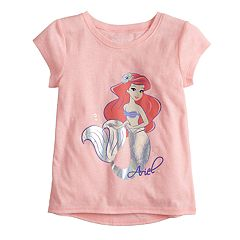 Disney's The Little Mermaid Ariel Toddler Girl Foiled Graphic Tee by Jumping Beans®
