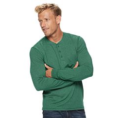 Men's SONOMA Goods for Life™ Slim-Fit Supersoft Henley