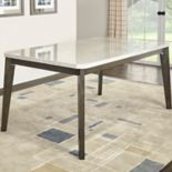 Powell Primm Faux-Marble Dining Table