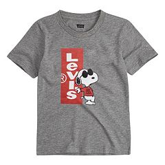 Boys 4-7 Levi's® Peanuts Snoopy in Sunglasses Graphic Tee
