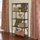 Powell Collin 4-Shelf Bookcase