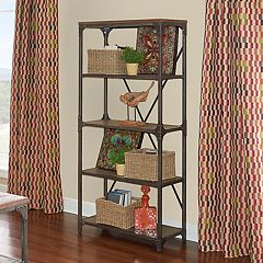 Powell Collin 4-Shelf Bookcase